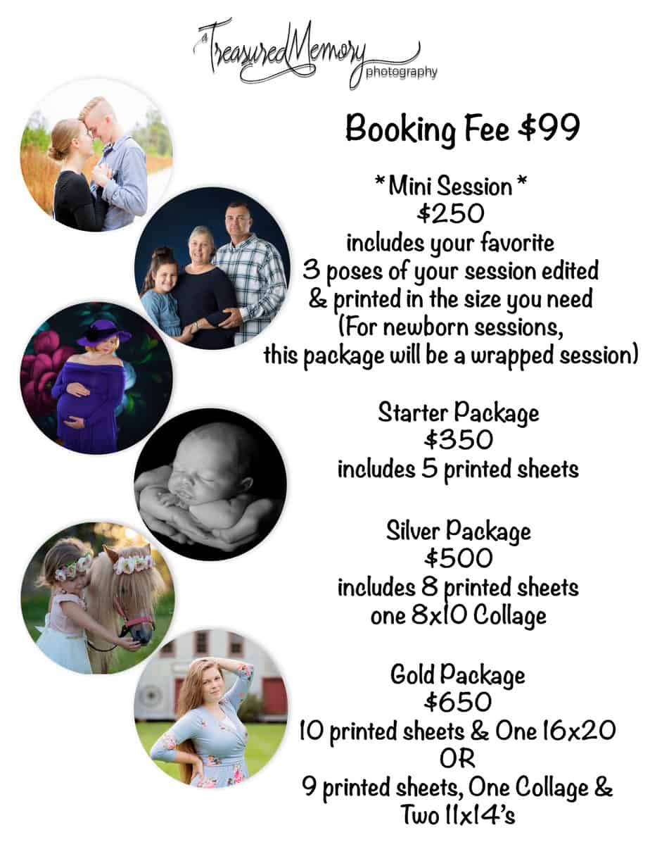 pricing sheet 2021